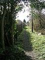 Footpath - Aberford Road - geograph.org.uk - 730132.jpg