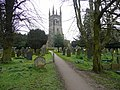 Footpath through the churchyard - geograph.org.uk - 865725.jpg