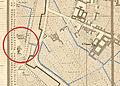 Foppone di San Giovannino alla Paglia Mappa di Milano di Giovanni Brenna (1860).jpg