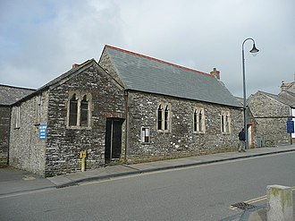 Christian school - The former church school, Tintagel, Cornwall
