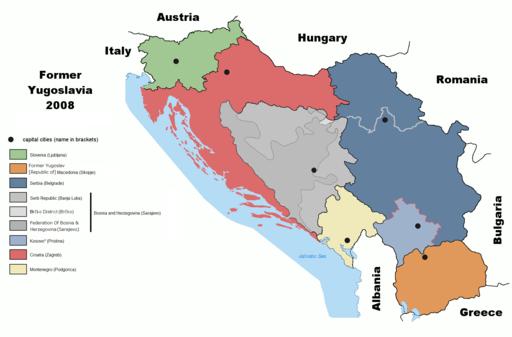 Former Yugoslavia 2008