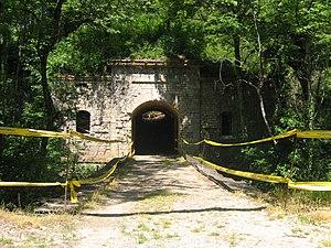 Asnières-lès-Dijon - Fort Brûlé, an old fort in Asnières-lès-Dijon commune