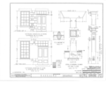 Fort Gibson, Barracks Building, Garrison Avenue, Fort Gibson, Muskogee County, OK HABS OKLA,51-FOGIB,1A- (sheet 6 of 14).png