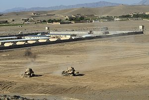 Forward operating base - Forward Operating Base Logar, Afghanistan.