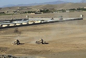 Forward operating base - Forward Operating Base Logar, Afghanistan.