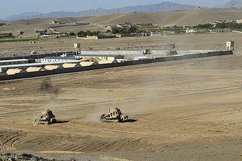 operating afghanistan Forward base