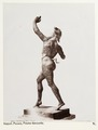 Fotografi av dansande faun. Neapel, Italien - Hallwylska museet - 106850.tif