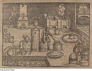 Non-ferrous extractive metallurgy - Medieval smelting plant