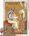 Four Evangelists, miniatures from the Gelati (Georgia) Gospels, Eleventh century (D).jpg