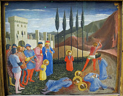 Fra Angelico: The Beheading of Saints Cosmas and Damian