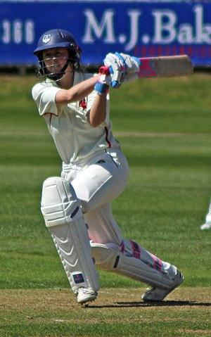 Fran Wilson - Wilson batting for Somerset in 2013