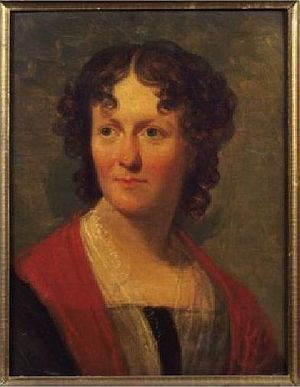 Frances Wright - 1824 portrait of Wright by Henry Inman