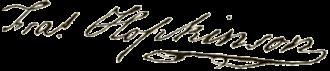 Francis Hopkinson - Image: Francis Hopkinson signature