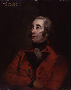 Francis Rawdon-Hastings, 1st Marquess of Hastings - Image: Francis Rawdon Hastings, 1st Marquess of Hastings by Hugh Douglas Hamilton
