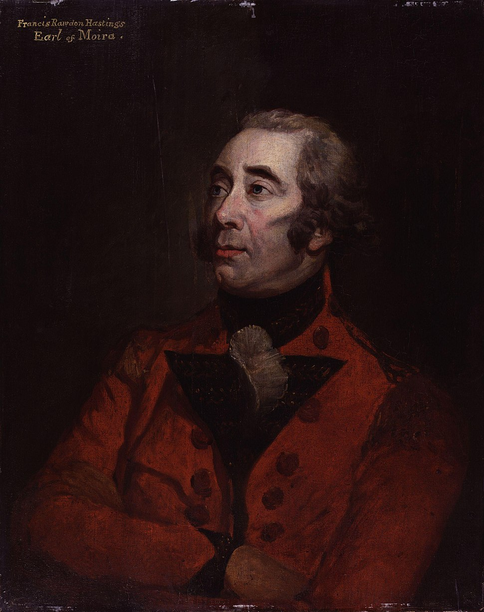 Francis Rawdon-Hastings, 1st Marquess of Hastings by Hugh Douglas Hamilton