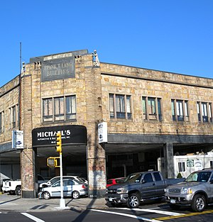 Middle Village, Queens - The Frank T. Lang Building at Metropolitan Avenue and 69th Street