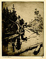 Frank W. Benson, River Drifters, 1914.jpg