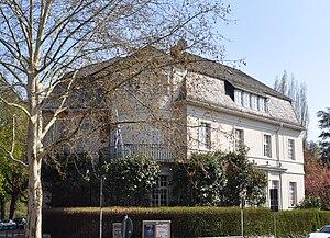 Frankfurt, Zeppelinallee 43, griechisches Generalkonsulat