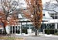 Frankfurt-Niederrad, entrance to the racecourse.JPG