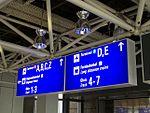Frankfurt Flughafen, Terminal 1, Beschilderung 2.jpg