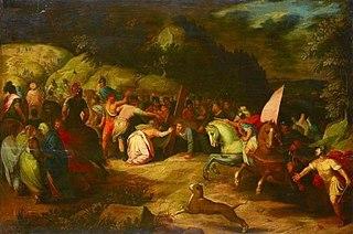 Christus auf dem Weg nach Golgatha
