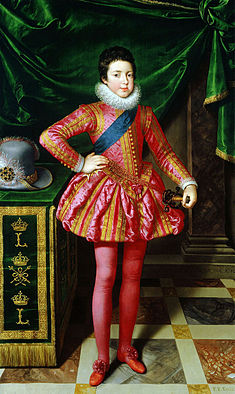 Frans Pourbus (II) - Portrait of Louis XIII of France at Age Ten - WGA18240