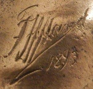 Franz Iffland - Iffland signature