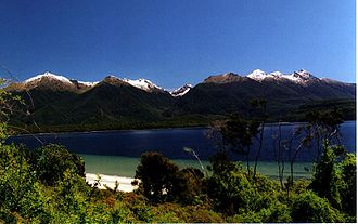 Manapouri - Image: Frasers Beach Walk