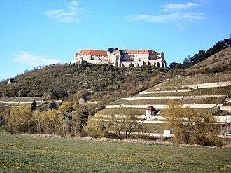 Saxe-Weissenfels - Image: Freyburg schloss