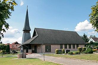 Osloß - Cemetery chapel