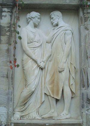 Luisenfriedhof III - Image: Fritz Klimsch 1904 LF III Mutter Erde fec