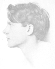 Frontispiece of Rupert Brooke