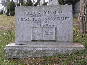 Fulton Oursler - The grave of Fulton Oursler in Gate of Heaven Cemetery