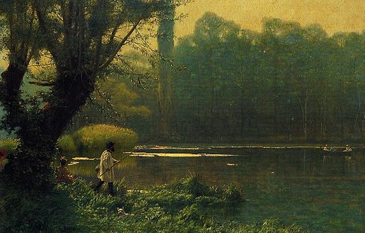 Gérôme - Summer Afternoon on a Lake
