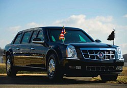 2009 Cadillac Presidential Limousine.