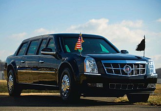 Presidential state car (United States) - Image: GPA02 09 US Secret Service press release 2009 Limousine Page 3 Image