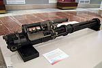 GSh-6-23M six-barreled 23mm rotary cannon in Tula State Arms Museum - 2016 01.jpg