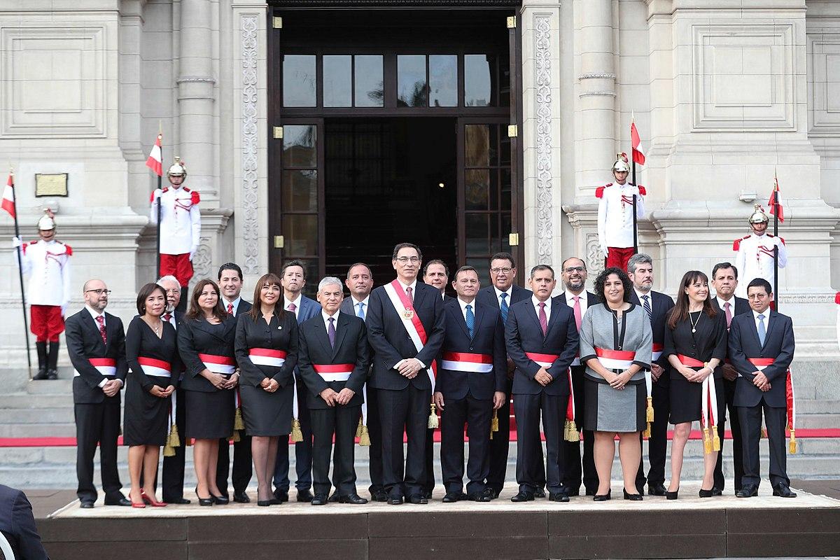 Consejo de ministros del per wikipedia la enciclopedia Quien es el ministro de interior y justicia
