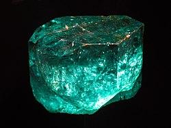 Emerald Faceted Gemstone Zambia Smeraldo Facet Edelstein