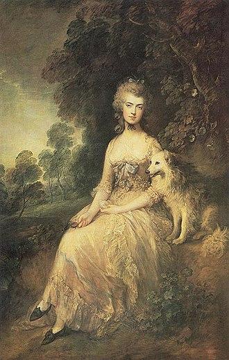 Mary Robinson (poet) - Portrait of Mary Robinson by Thomas Gainsborough, 1781
