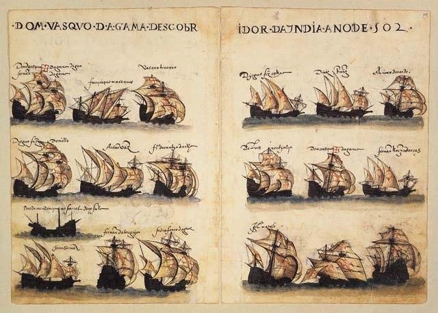 Gama armada of 1502 (Livro de Lisuarte de Abreu)
