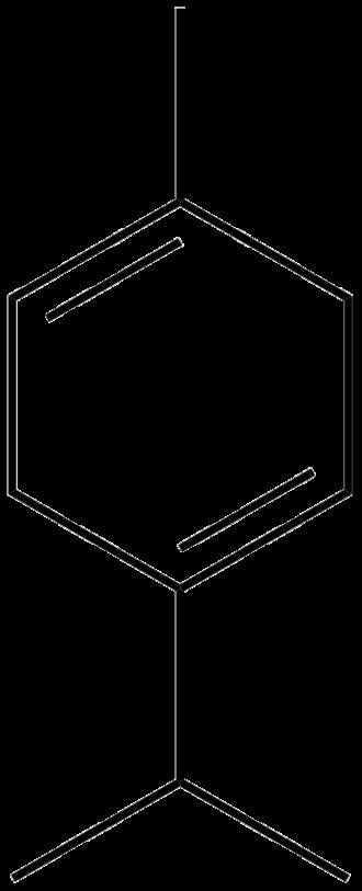 Terpinene - Image: Gamma terpinene