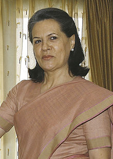 Wikipedia: Sonia Gandhi at Wikipedia: 220px-Gandhisonia05052007
