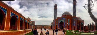 Ganja, Azerbaijan - Imamzadeh religious complex in Ganja