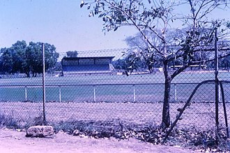 Gardens Oval - Gardens Oval in 1972