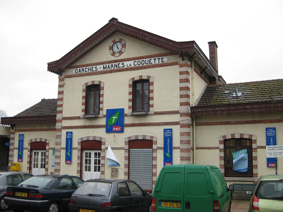 Gare de garches marnes la coquette wikip dia for Garage de la gare bretigny