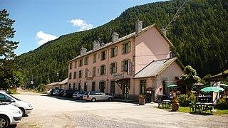 Vallorcine station