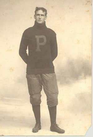 Garfield Weede - Weede, suited up for football at Penn