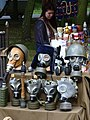 Gas Mask Display at Souvenir Stand - Westerplatte - Gdansk - Poland (28088316575).jpg