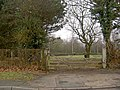 Gate into sports field from Browns Lane - geograph.org.uk - 1137166.jpg